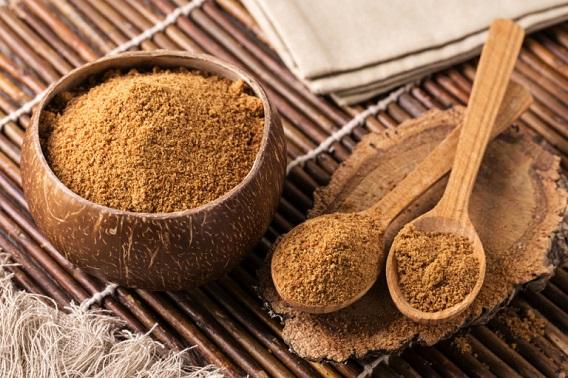 biologiki zaxari karudas, βιολογική ζάχαρη καρύδας
